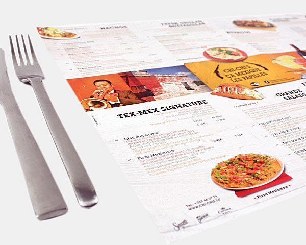 Set de table A3 papier