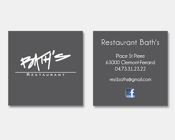 Restaurant Bath's
