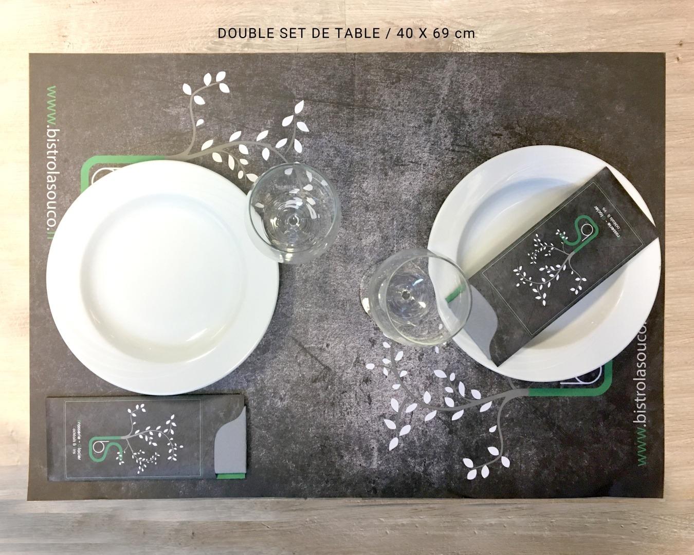 set de table a3 en papier jeter ou en plastique ind chirable impression num rique ou en. Black Bedroom Furniture Sets. Home Design Ideas